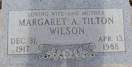 WILSON, MARGARET A. - Cochise County, Arizona | MARGARET A. WILSON - Arizona Gravestone Photos