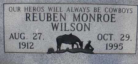 WILSON, REUBEN MONROE - Cochise County, Arizona | REUBEN MONROE WILSON - Arizona Gravestone Photos