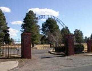 *CALVARY, CEMETERY ENTRANCE - Coconino County, Arizona | CEMETERY ENTRANCE *CALVARY - Arizona Gravestone Photos