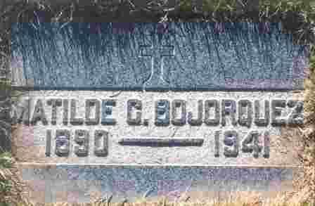 CUEN BOJORQUEZ, MATILDE - Coconino County, Arizona | MATILDE CUEN BOJORQUEZ - Arizona Gravestone Photos