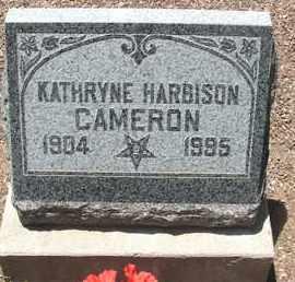 CAMERON, KATHRYNE - Coconino County, Arizona | KATHRYNE CAMERON - Arizona Gravestone Photos