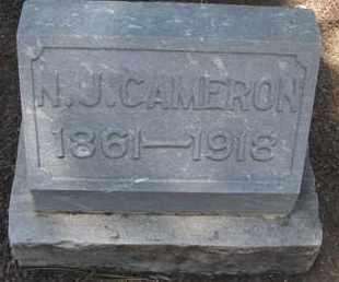 CAMERON, N.J. - Coconino County, Arizona   N.J. CAMERON - Arizona Gravestone Photos