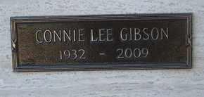 GIBSON, CONNIE LEE - Coconino County, Arizona | CONNIE LEE GIBSON - Arizona Gravestone Photos