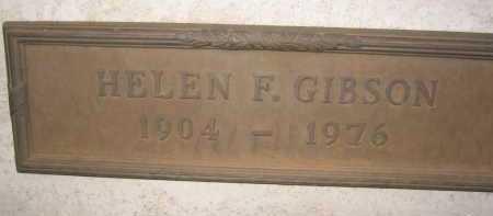 GIBSON, HELEN F. - Coconino County, Arizona | HELEN F. GIBSON - Arizona Gravestone Photos