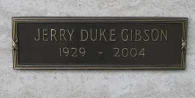 GIBSON, JERRY DUKE - Coconino County, Arizona | JERRY DUKE GIBSON - Arizona Gravestone Photos