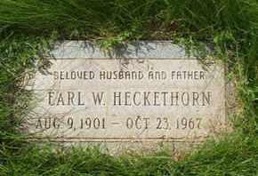 HECKETHORN, EARL W. - Coconino County, Arizona | EARL W. HECKETHORN - Arizona Gravestone Photos