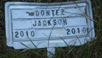 JACKSON, DONTEZ - Coconino County, Arizona   DONTEZ JACKSON - Arizona Gravestone Photos