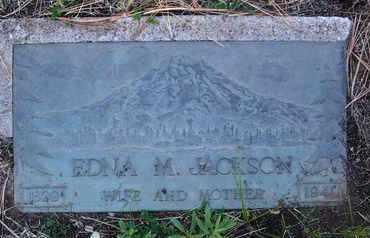 JACKSON, EDNA M. - Coconino County, Arizona | EDNA M. JACKSON - Arizona Gravestone Photos
