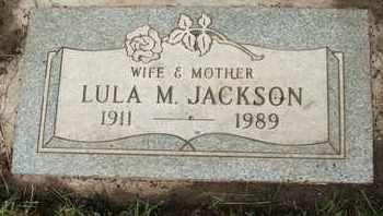JACKSON, LULA M. - Coconino County, Arizona   LULA M. JACKSON - Arizona Gravestone Photos