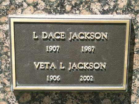JACKSON, VETA L. - Coconino County, Arizona | VETA L. JACKSON - Arizona Gravestone Photos