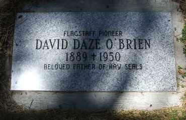 O'BRIEN, DAVID DAZE - Coconino County, Arizona | DAVID DAZE O'BRIEN - Arizona Gravestone Photos