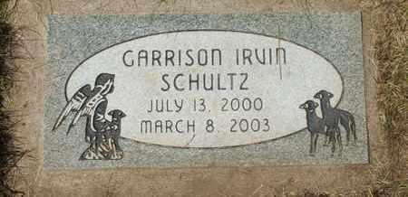 SCHULTZ, GARRISON IRVIN - Coconino County, Arizona | GARRISON IRVIN SCHULTZ - Arizona Gravestone Photos