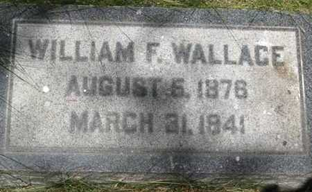 WALLACE, WILLIAM F. - Coconino County, Arizona | WILLIAM F. WALLACE - Arizona Gravestone Photos