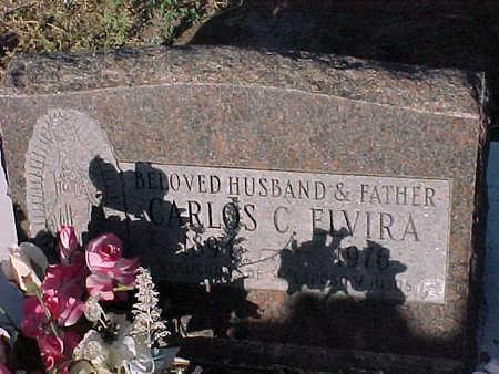 ELVIRA, CARLOS  C. - Gila County, Arizona   CARLOS  C. ELVIRA - Arizona Gravestone Photos