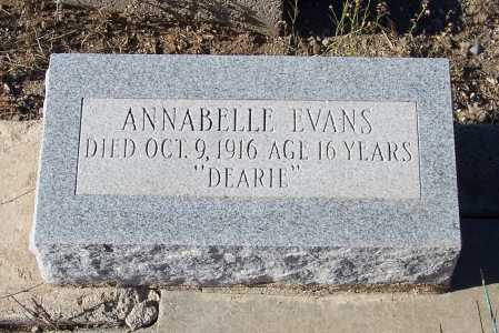 EVANS, ANNABELLE - Gila County, Arizona   ANNABELLE EVANS - Arizona Gravestone Photos