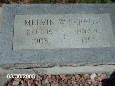 FARROW, MELVIN W. - Gila County, Arizona | MELVIN W. FARROW - Arizona Gravestone Photos