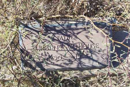 HOUSE, URBANE W. - Gila County, Arizona | URBANE W. HOUSE - Arizona Gravestone Photos