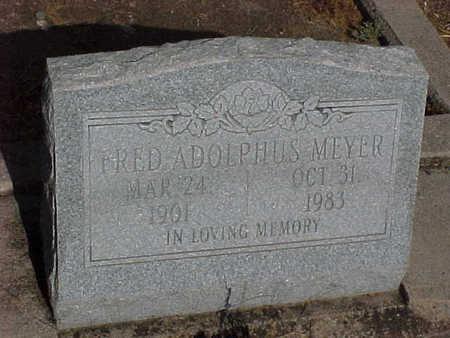 MEYER, FRED ADOLPHUS - Gila County, Arizona   FRED ADOLPHUS MEYER - Arizona Gravestone Photos
