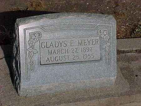MEYER, GLADYS E. - Gila County, Arizona | GLADYS E. MEYER - Arizona Gravestone Photos