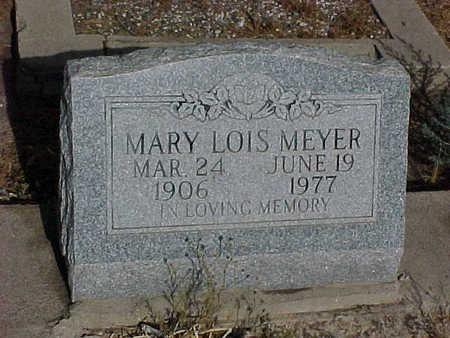 MEYER, MARY LOIS - Gila County, Arizona | MARY LOIS MEYER - Arizona Gravestone Photos