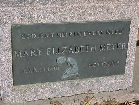 MEYER, MARY ELIZABETH - Gila County, Arizona | MARY ELIZABETH MEYER - Arizona Gravestone Photos