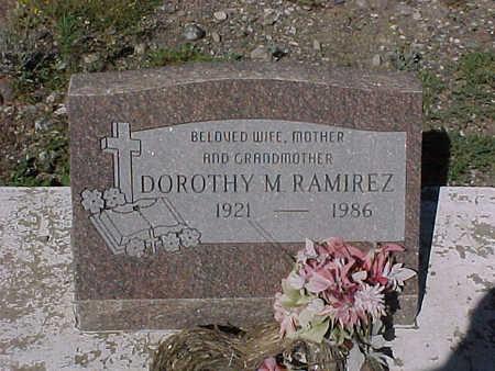 RAMIREZ, DOROTHY  M. - Gila County, Arizona | DOROTHY  M. RAMIREZ - Arizona Gravestone Photos