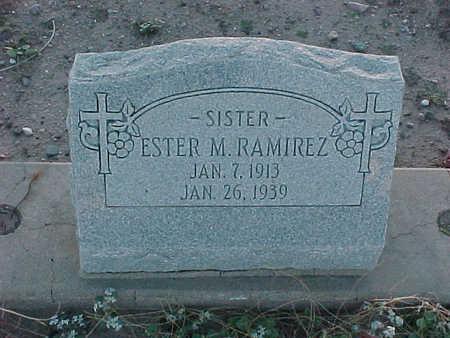 RAMIREZ, ESTER  M. - Gila County, Arizona | ESTER  M. RAMIREZ - Arizona Gravestone Photos