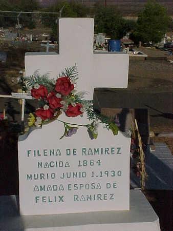 RAMIREZ, FILENA - Gila County, Arizona | FILENA RAMIREZ - Arizona Gravestone Photos