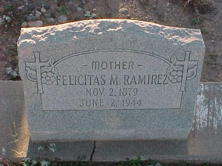 RAMIREZ, FELICITAS  M. - Gila County, Arizona   FELICITAS  M. RAMIREZ - Arizona Gravestone Photos