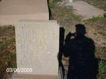 RAMIREZ, FRANSISCO - Gila County, Arizona | FRANSISCO RAMIREZ - Arizona Gravestone Photos