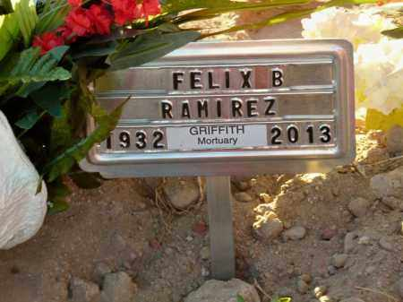 RAMIREZ, FELIX B. - Gila County, Arizona | FELIX B. RAMIREZ - Arizona Gravestone Photos