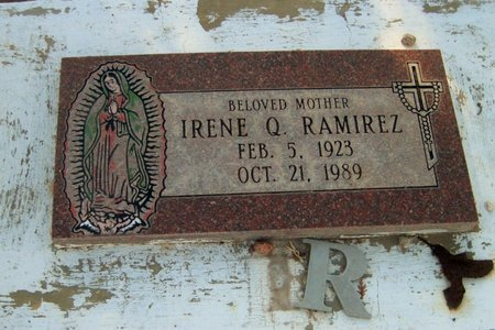 RAMIREZ, IRENE Q. - Gila County, Arizona   IRENE Q. RAMIREZ - Arizona Gravestone Photos