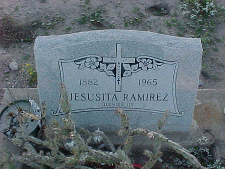 RAMIREZ, JESUSITA - Gila County, Arizona | JESUSITA RAMIREZ - Arizona Gravestone Photos