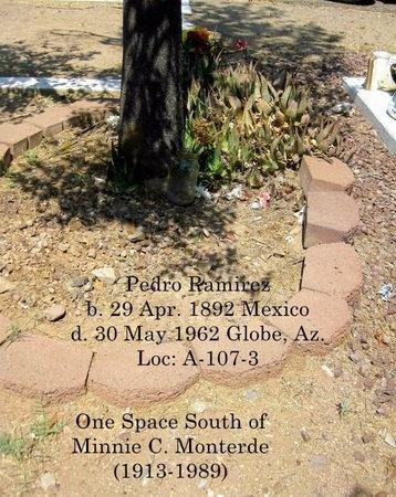RAMIREZ, PEDRO - Gila County, Arizona | PEDRO RAMIREZ - Arizona Gravestone Photos