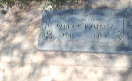 RAMIREZ, PALA C. - Gila County, Arizona | PALA C. RAMIREZ - Arizona Gravestone Photos