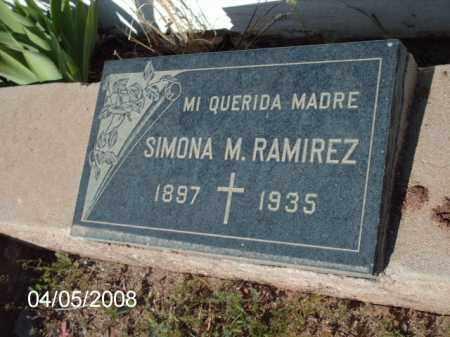 RAMIREZ, SIMONA M. - Gila County, Arizona   SIMONA M. RAMIREZ - Arizona Gravestone Photos