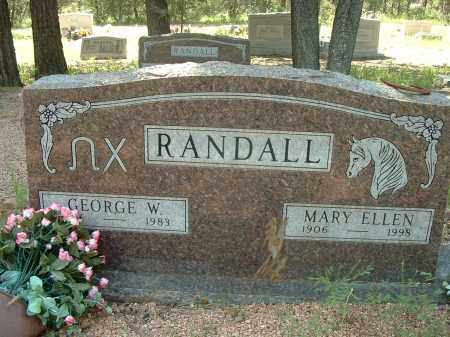 RANDALL, GEORGE WALTER - Gila County, Arizona | GEORGE WALTER RANDALL - Arizona Gravestone Photos