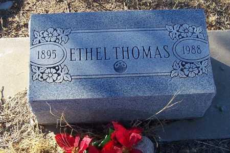 THOMAS, ETHEL - Gila County, Arizona | ETHEL THOMAS - Arizona Gravestone Photos