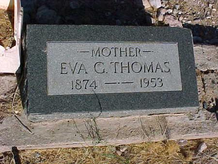 THOMAS, EVA  G. - Gila County, Arizona   EVA  G. THOMAS - Arizona Gravestone Photos