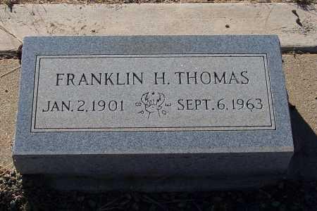 THOMAS, FRANKLIN H. - Gila County, Arizona   FRANKLIN H. THOMAS - Arizona Gravestone Photos