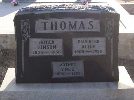 THOMAS, YNEZ - Gila County, Arizona | YNEZ THOMAS - Arizona Gravestone Photos