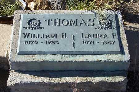 THOMAS, WILLIAM H. - Gila County, Arizona | WILLIAM H. THOMAS - Arizona Gravestone Photos