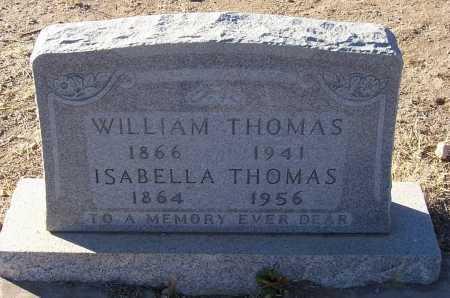 THOMAS, ISABELLA - Gila County, Arizona | ISABELLA THOMAS - Arizona Gravestone Photos
