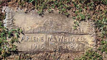 WHITAKER, ARLENE M. - Gila County, Arizona | ARLENE M. WHITAKER - Arizona Gravestone Photos