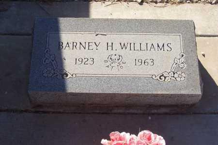 WILLIAMS, BARNEY H. - Gila County, Arizona | BARNEY H. WILLIAMS - Arizona Gravestone Photos
