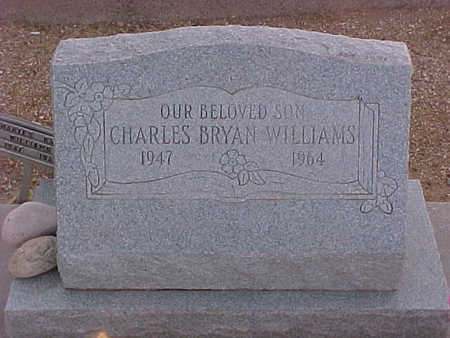 WILLIAMS, CHARLES BRYAN - Gila County, Arizona | CHARLES BRYAN WILLIAMS - Arizona Gravestone Photos
