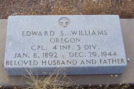 WILLIAMS, EDWARD S. - Gila County, Arizona | EDWARD S. WILLIAMS - Arizona Gravestone Photos