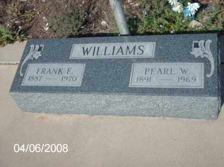 WILLIAMS, FRANK E. - Gila County, Arizona | FRANK E. WILLIAMS - Arizona Gravestone Photos