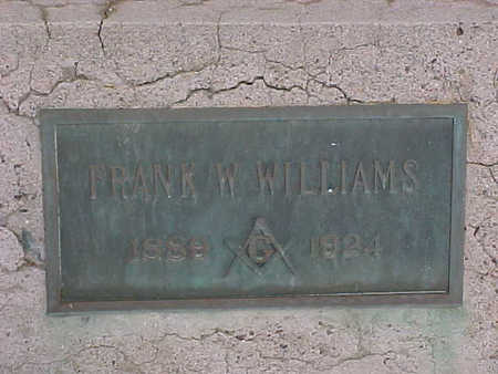 WILLIAMS, FRANK - Gila County, Arizona   FRANK WILLIAMS - Arizona Gravestone Photos