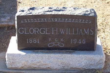 WILLIAMS, GEORGE H. - Gila County, Arizona | GEORGE H. WILLIAMS - Arizona Gravestone Photos
